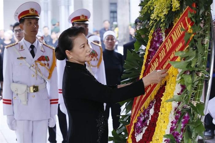 Hình ảnh: Lễ viếng nguyên Tổng Bí thư Đỗ Mười số 10